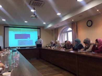 Встановлення контакту: семінар-тренінг для активісток ісламських культурних центрів