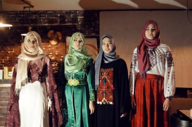 Tripple Hijab Day in Zaporizhzhia
