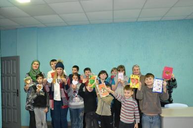 Харківські мусульманки знову відвідали вихованців Зеленогайського інтернату