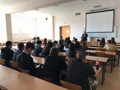 лекция Тарика Сархана в КНУКиИ