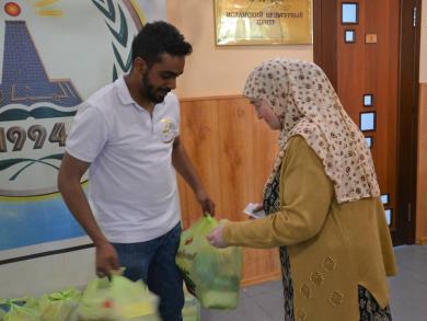 215 родин харківських мусульман отримали продуктові набори на початку Рамадану
