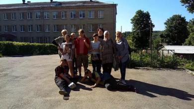 Pupils of Zelenohaiska Orphan Boarding School Preparing Return Visit