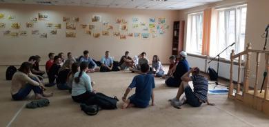 Юные франковеды в гостях в ИКЦ Львова