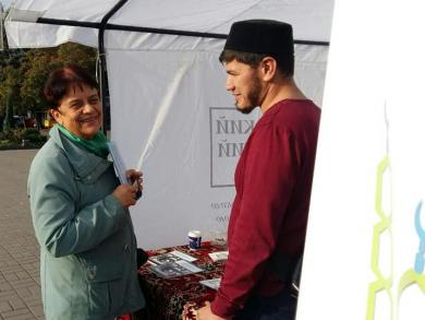 Мусульмани Запоріжжя готові відповісти на будь-які питання містян про Іслам