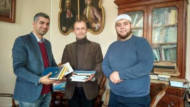 Бібліотека Львівського національного університету поповнилася подарованими мусульманами книгами