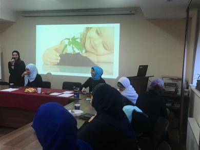 Активистки ЖО «Марьям» избрали новое руководство