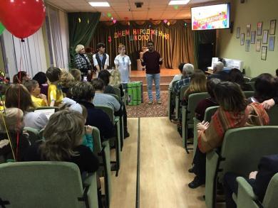 Харьковские мусульмане посетили воспитанников Зеленогайского интерната по случаю 95-летия школы