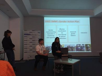 Запорожские мусульманки приняли участие в интерактивной дискуссии  ОБСЕ