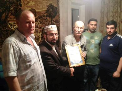 In memory of Mr. Mais Batalov, a founder of the religious community of Muslims in Odessa