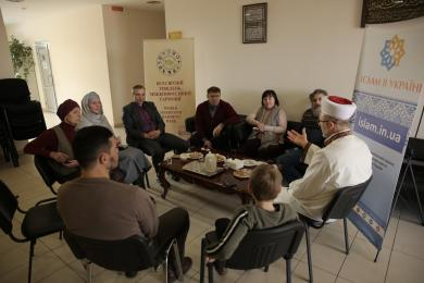 Kyiv ICC Hosted Guests as Part of World Interfaith Harmony Week