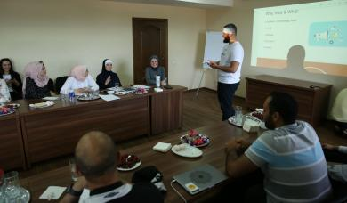 FEMYSO Gives Alraid Volunteers a Two-Day Training on Events and Productivity