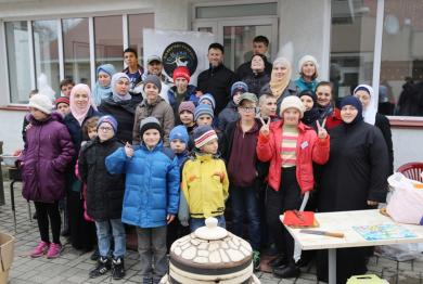 Активісти «Альраіда» вкотре відвідали сиріт в інтернатних закладах