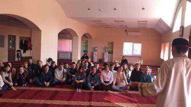 Вихованці Українсько-американського ліцею відвідали Ісламський культурний центр Дніпра