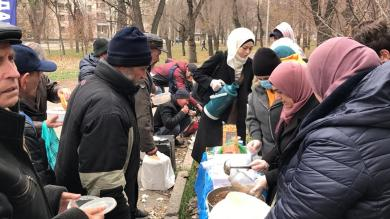 "Join the ""Hot Meals for the Homeless"" Benefit in Zaporizhzhia!"