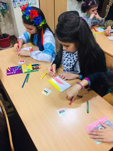 Разнообразие этнических культур на презентациях детского клуба