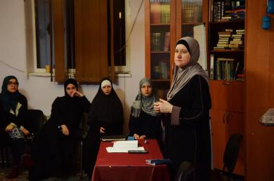 Семінар з Корану та «жіночого фікгу» для мусульманок Запоріжжя