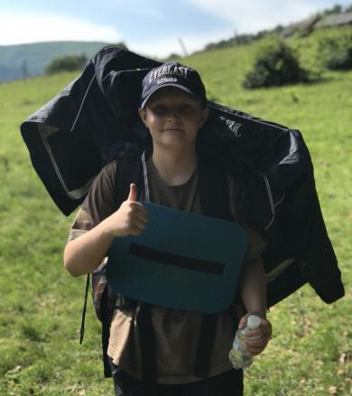 Less Distance, More Survival Skills: Teenages from Scouting Camp-2018 Once Again Conquer the Carpathians