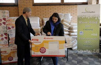 Warm Relief-2017: Cooperation with German Muslimehelfen Underway!