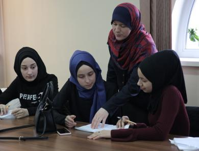 Relations With God and With Boys: Balance of Spiritual and Acute at Training for Teenage Girls