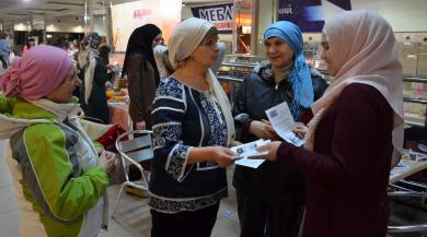 Волонтерки ІКЦ Дніпра на фестивалі «День спонтанних проявів доброти»