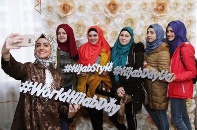 Весенний День хиджаба в ТНУ им. Вернадского
