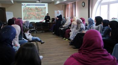 Активистки из исламских центров Украины начали зиму семинара-тренинга в Киеве