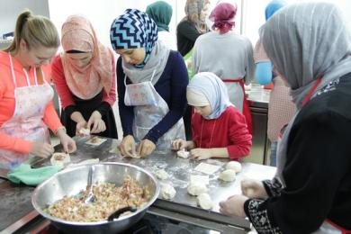 Five Hundred Oriental Dumplings (Crimean Tatar Style) Cooked For Military Hospital