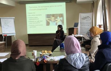 «Нарисуйте свои взаимоотношения с детьми»: семинар-тренинг для родителей