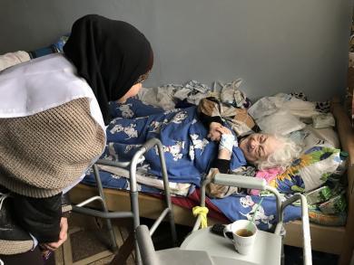 Когда внимание не менее ценно, чем подарки: визит ЖО «Марьям» в хоспис в Скибине