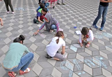 В Киевском ИКЦ стартовал детский летний лагерь