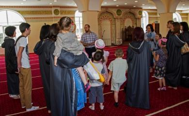 Дети-переселенцы в гостях у киевского ИКЦ