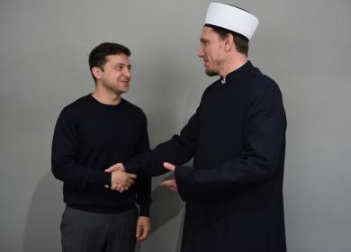 Глава Ассоциации «Альраид» встретился с новоизбранным Президентом Украины
