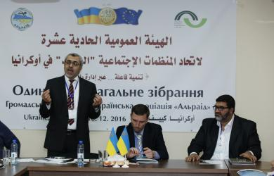 "Seyran Arifov is a new head of the ""All-Ukrainian association ""Alraid"""