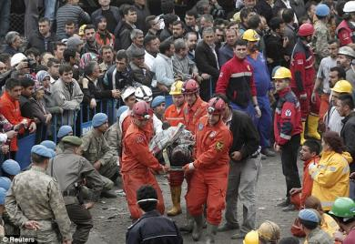 Turkish Miner's Pain In Depth Of The Earth Echoes In Depth Of Our Hearts
