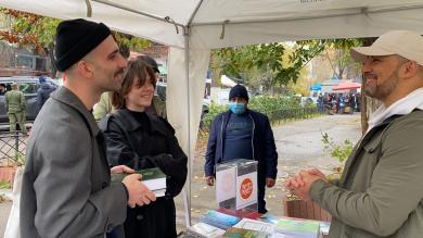 В українських містах тривають акції «Іслам — це мир!» як частина програми «Милість для людства»