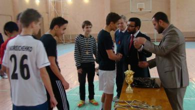 «Аль-Масар» подводит итоги турнира по мини-футболу среди старшеклассников одесской школы-интерната