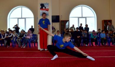 """""""See And Be Seen"""": Wushu Demo Lesson At Kyiv ICC"""