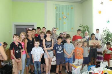 Рамадан принес подарки воспитанникам Харьковского городского детского дома