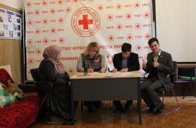 Меморандум о сотрудничестве с Красным Крестом Запорожья подписан