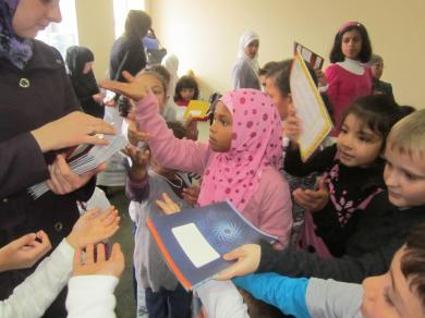 """Alraid"" Children's Clubs Get Open For The New School Year (FOTO)"
