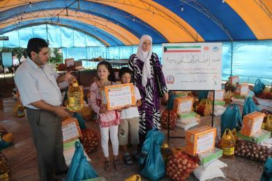 В Крыму прошла традиционная акция помощи нуждающимся «Ифтар постящимся»
