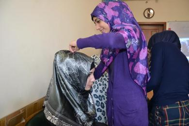 World Hijab Day In Ukrainian Cities