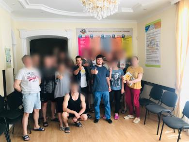 Возобновление лекций для участников реабилитационной программы в Запорожье