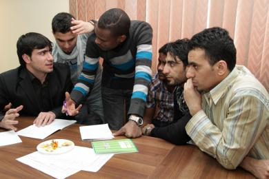"""""""Alraid"""" teaches operational planning administrative staff of its organizations"""