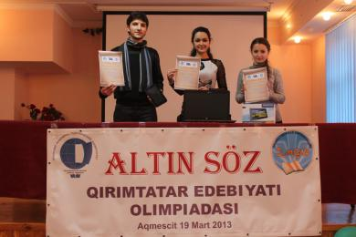 Awards for young fans of Crimean Tatar literature and recitators