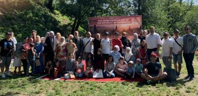 Волонтерки з ЖО «Мар'ям» на заходах з нагоди Дня незалежности Індонезії