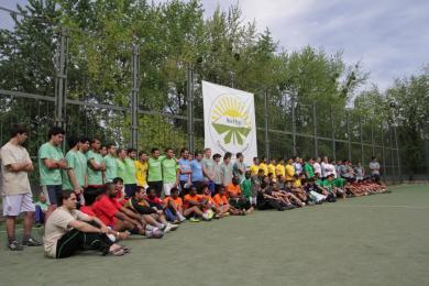 "Mini-Football Cups Held by ""Alraid"" Organisations"