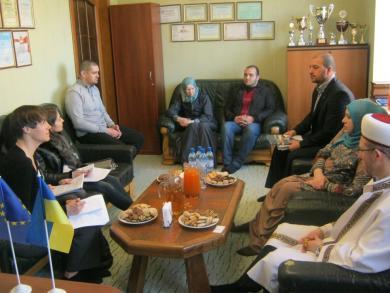 ОБСЄ цікавиться дотриманням прав мусульман України