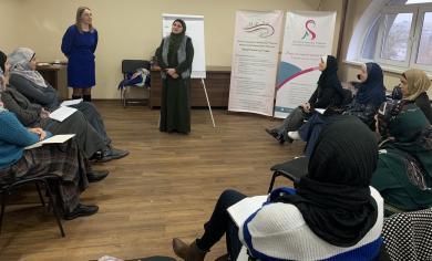 Фінансова грамота для мусульманок у столичному ІКЦ