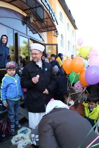 Ид аль-Фитр в Киеве, Львове и Одессе